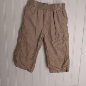Boys tan cargo pants